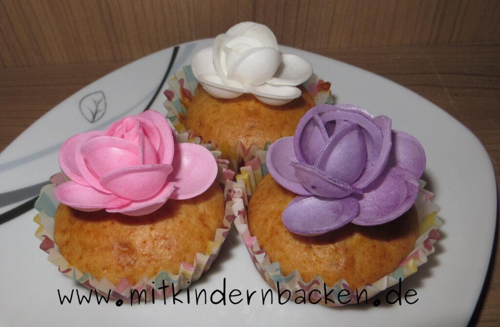 Honigmuffins ohne Zucker und Ei